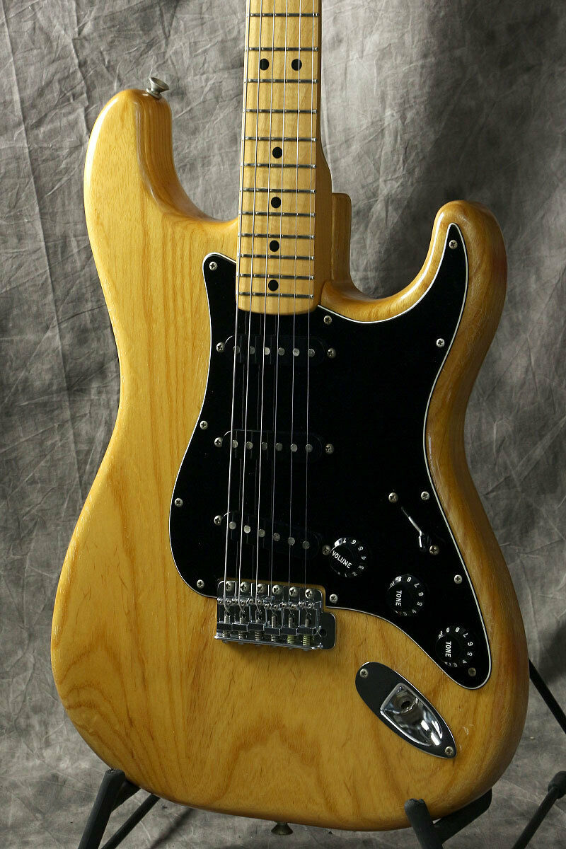 Fender 1979 Stratocaster Natural JAPAN beautiful rare EMS F S