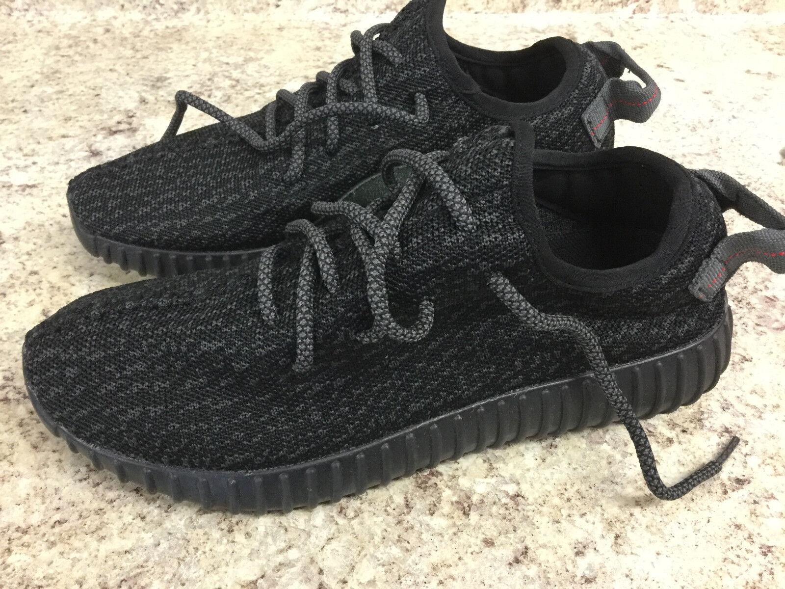 Mens Adidas Yeezy Boost 350 Pirate Black AQ2659 US Size 7