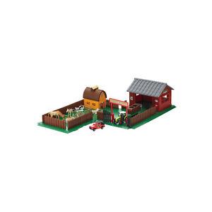 Kinderspielzeu<wbr/>g Bauernhof Scheune Farm Stall Tiere Fahrzeuge Traktor für Kinder