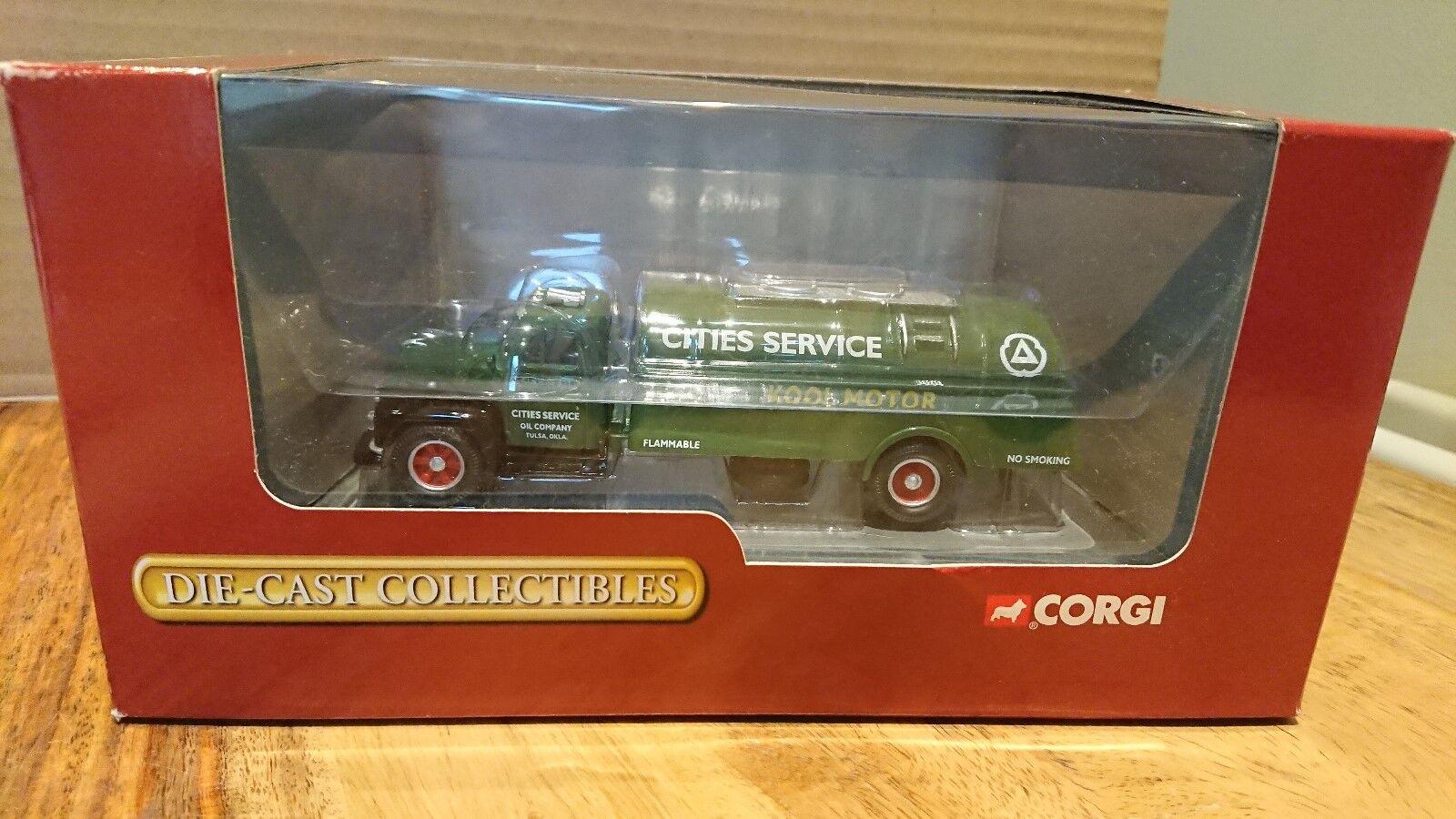 Corgi 56202 Diamond T620 tanque de las ciudades de servicios rígido