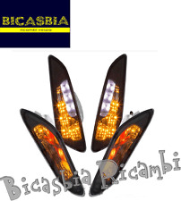 6978 - KIT FRECCE FRECCIA A LED NERO OPACO VESPA 50 PRIMAVERA SPRINT