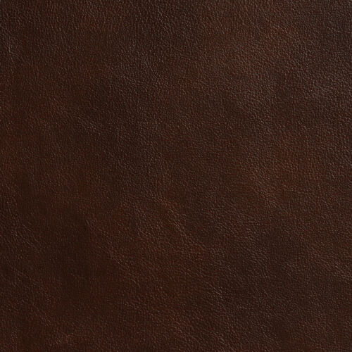 G641 Brown Smooth Small Leather Grain Upholstery Bonded Leather By The Yard