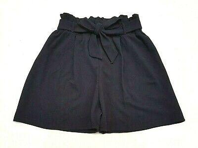 ** Nuovo 2019 Look Navy Paperbag Plus Size & Curva Vita Alta Pantaloncini Sacchetto Di Carta **-mostra Il Titolo Originale Può Essere Ripetutamente Ripetuto.