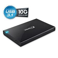 "500 GB SATA SSD !!! im FANTECALU-25B31-Black 2.5""  Gehäuse - USB 3.1 - 10G"