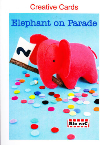 PATTERN Elephant On Parade Creative Cards mini PATTERN by Ric Rac