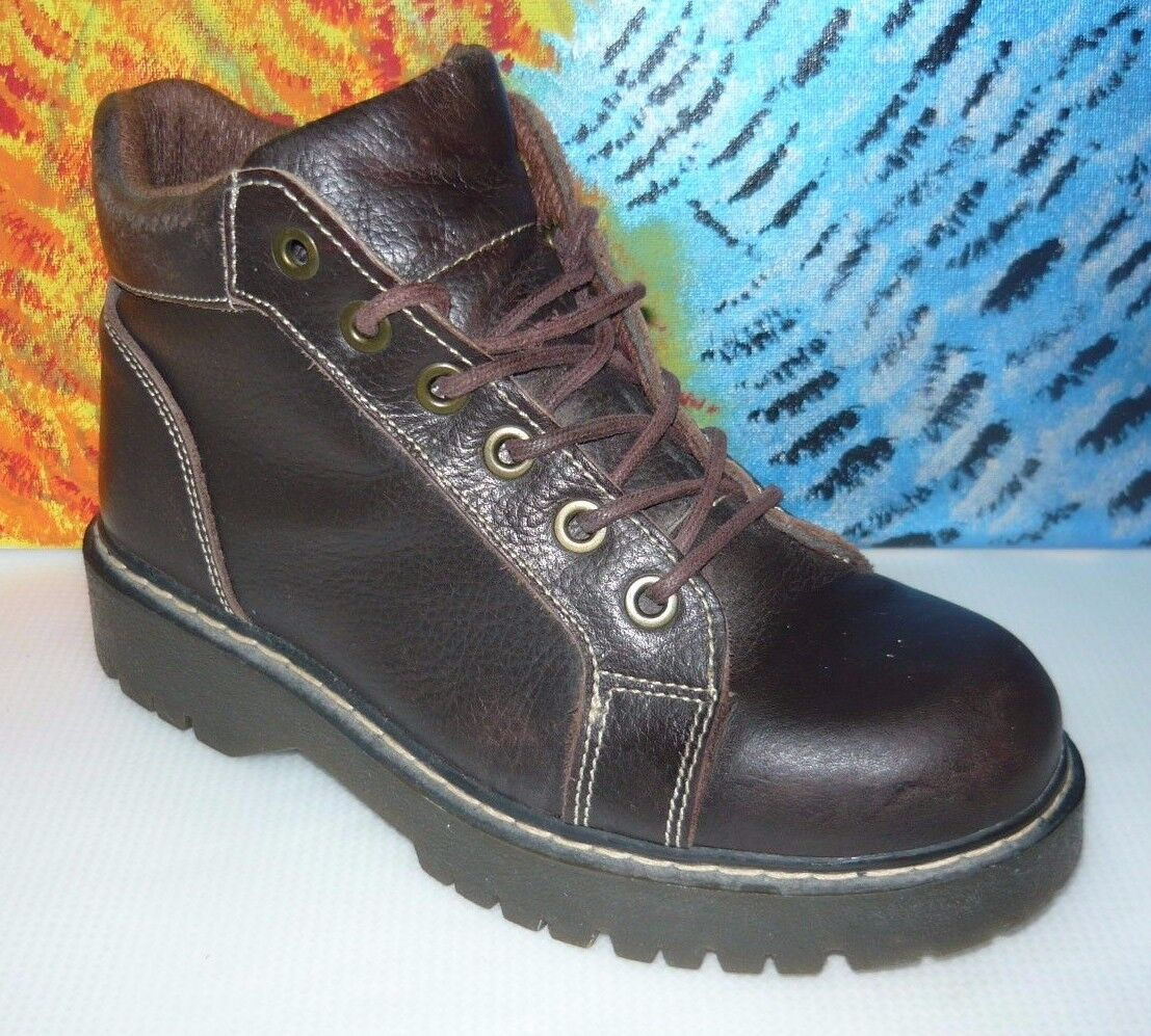 Relativity Womens Brown Ankle  Boots 8.5