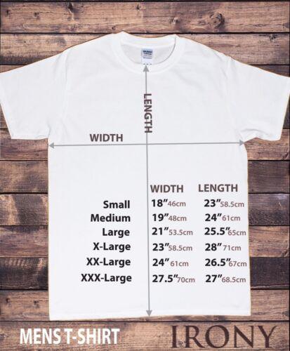 Tee-shirt homme crois Inspirant Slogan Motivational fausser Print TS1145