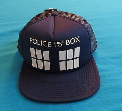 DOCTOR WHO - TARDIS TRUCKER HAT - NEW