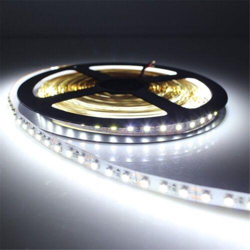 1M to 5M Flexible LED Strip light 5050  3528 SMD RGB White Bulb Lights Full Kit
