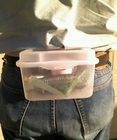 Fishing Tackle / Bait Box With Belt