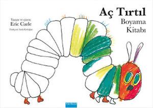 Ac Tirtil Boyama Kitabi Eric Carle Turkish Children S