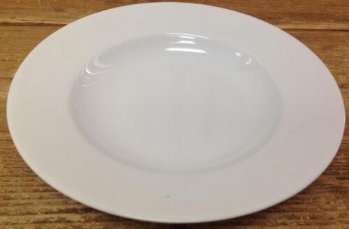Apilco Concorde White Porcelain France French Classic 1 Rim Soup Bowl Rimmed