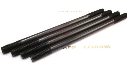 Zündapp Zylinder Stehbolzen 4 Stück M7 x 120mm CS HAI 50 Typ 448