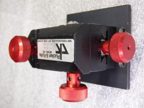 Used Rucker Kolls 222 Probe Micro Positioner Micromanipulator U10