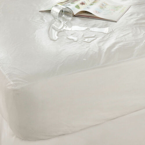 NEW SILENTNIGHT DOUBLE SIZE WATERPROOF MATTRESS PROTECTOR BED BEDDING SHEETS