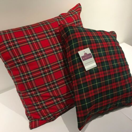 Scottish Tartan Checked Cushion Cover  Mtex M190C