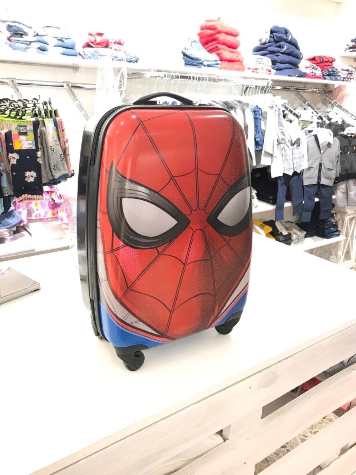 Spiderman Valigia Per Bambini, Trolley Da Cabina, 55 Centimetri, 33 Litri