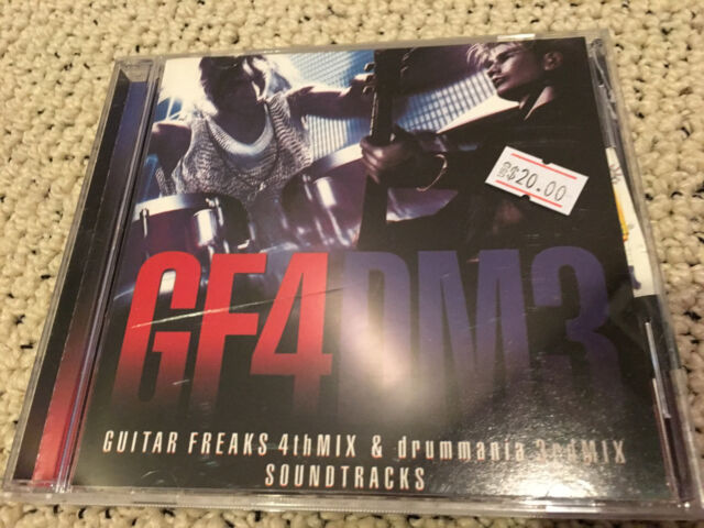 GUITAR FREAKS 4TH DRUMMANIA 3RD MIX OST game cd soundtrack miya dance revolution