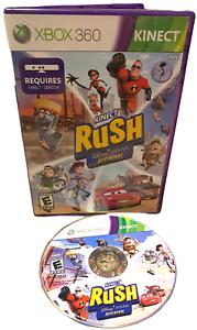Kinect Rush A Disney Pixar Adventure W Manual Xbox 360 Game
