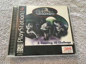 Casper - Black Label - Sony PlayStation 1 PS1 - COMPLETE - TESTED - CLEAN