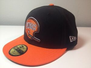 8ed0a367260017 NEW ERA 59FIFTY NFL CAP CINCINNATI BENGALS 2 TONE CUSTOM FIT 5950 ...