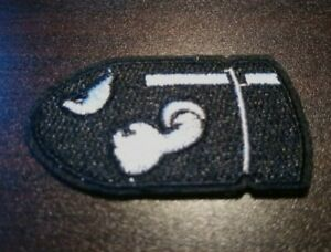 Bullet Bill Iron on Patch