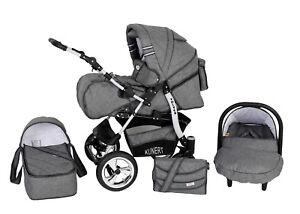 kombikinderwagen kinderwagen 3in1 mit babyschale 0 13kg. Black Bedroom Furniture Sets. Home Design Ideas