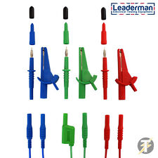 LDM165 Fluke 1651-1652-1653-1654 Multifunction Unfused Test Leads,Probes & Clips
