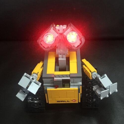 Led Light Kit Only For Lego 10220 Idea Robot WALLE Building Set Lighting Bricks