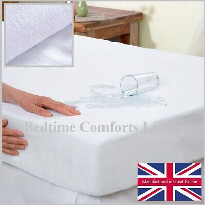 """Bedtime Comforts FITTED MATTRESS TOPPER 54/"""" x 78/"""" EURO IKEA DOUBLE SIZE"""