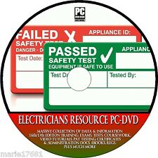 ELECTRICIANS 17TH EDITION TRAINING GUIDE, REGS PAT TESTING  SIGNS NEW PC DVD-ROM