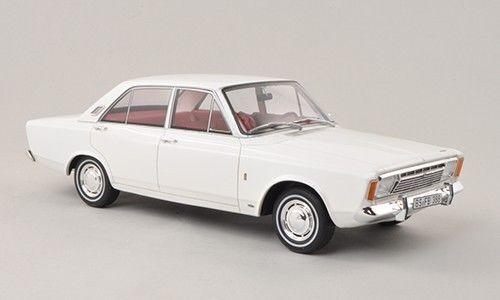 BOS 1967 Ford Taunus 17M (P7a) blancoo 1 18 Edición Limitada 1000 hallazgo raro   nuevo