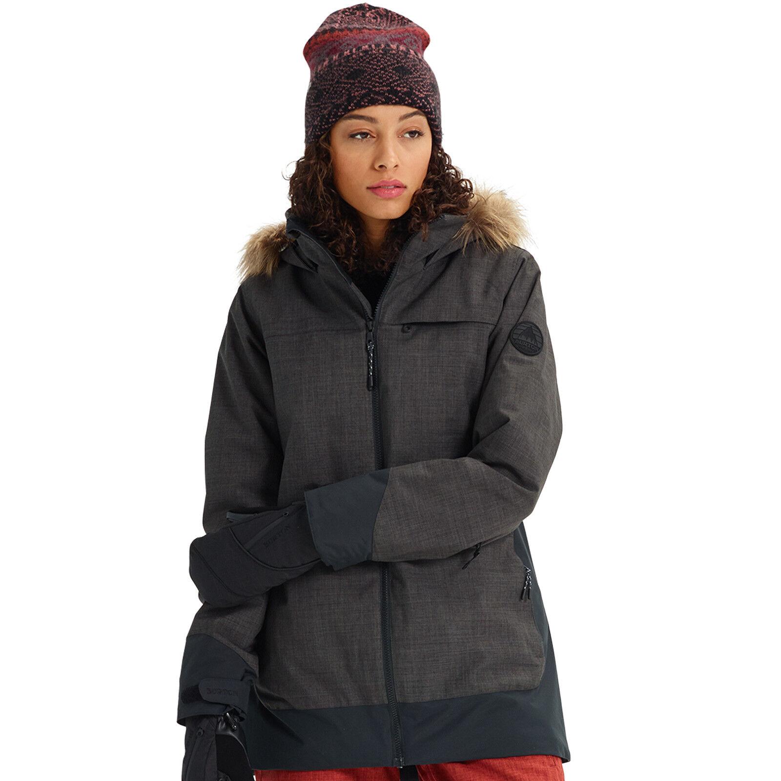 Burton Lelah Veste Femme de Snowboard Ski Fonctionnelle Hiver