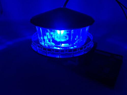 Litze LED für 9-12V #10xA117 10 Stück LEDs 5mm Licht blau diffus mit Kabel