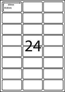 avery l7159 a4 labels compatible 100 sheets 24 labels page l
