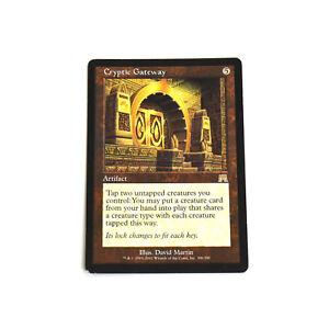 MTG-CRYPTIC-GATEWAY-Onslaught-LP-Rare-English-Normal