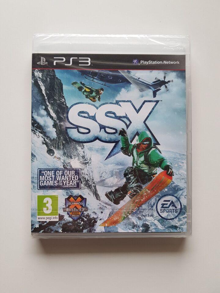 (Nyt i folie) SSX, PS3