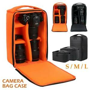 Photography-Camera-Bag-Insert-Carry-Case-Partition-For-SLR-Canon-Nikon-Sony-Lens
