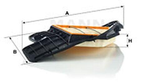 Mann-Filter Filtre à air C 20 028 pour f04 f01 BMW f03 f02 e72 e71 x6 x5 droite 7er