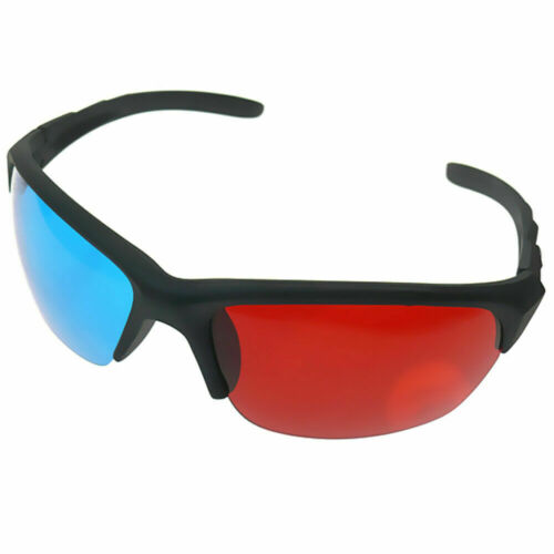 3D Brille Blau Rot Cyan Anaglyph Kino Glasses Brillen Filme TV PC Neu