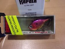 Rapala ULRPR-4 Ultralight Rippin' Rap 4 Chrome