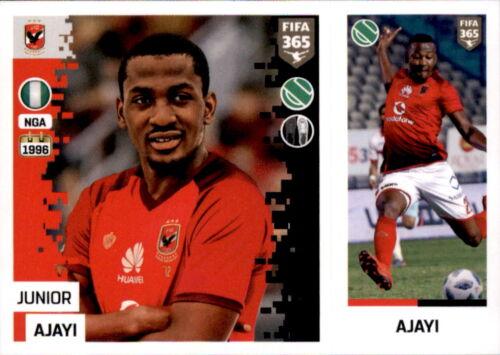 Junior Ajayi Sticker 363 a//b Al Ahly SC Panini FIFA365 2019