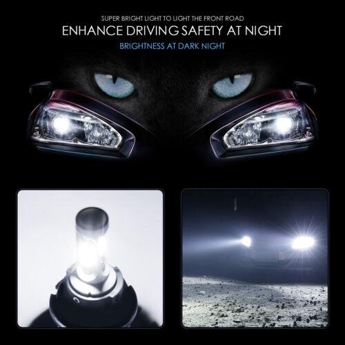 IRONWALLS H11 1700W 255000LM CREE LED Headlight Bulb Conversion FOG light 6000K