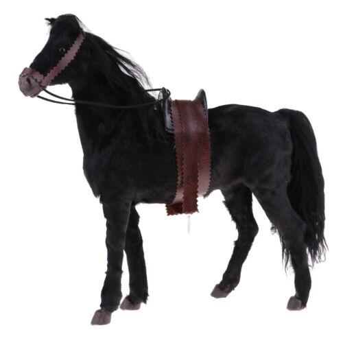 1//6 Pferde Figuren Tierfigur Tiermodell für Sammeln und Dekoration