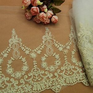 Vintage Embroidered Lacework Trims Handicrafts Diy Accessory Clothes