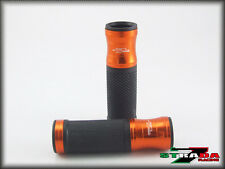 Kawasaki Z750R Strada 7 Racing CNC Hand Grips Orange