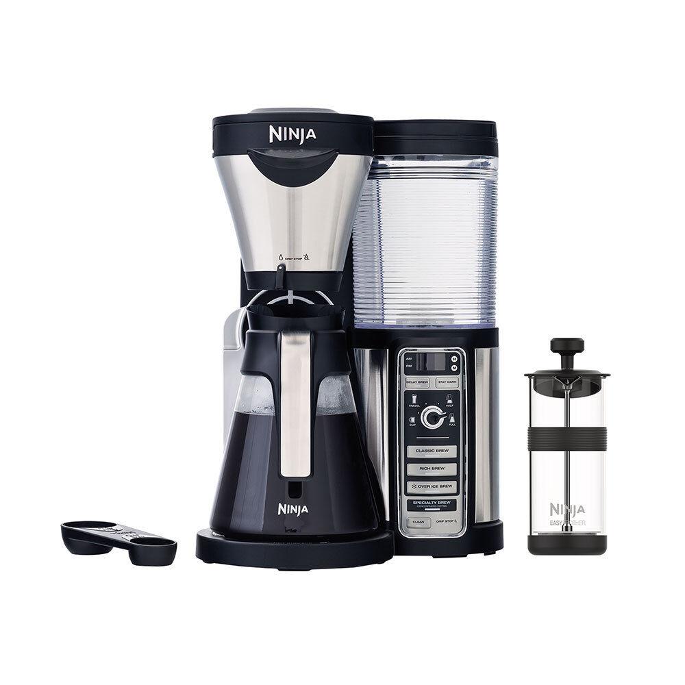 Ninja CF080 Coffee Bar Brewer Maker w  Glass Carafe (Certified Refurbished)
