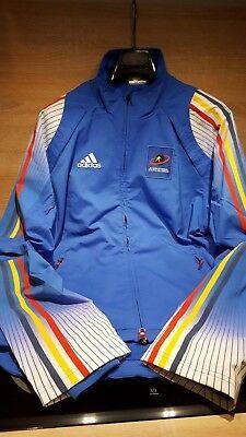 Adidas Trainingsjack blau IBU Gr.7   eBay