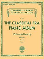 The Classical Era Piano Album Sheet Music Schirmer's Library Of Musica 050600420