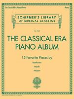 The Classical Era Piano Album Sheet Music Schirmer's Library Of Musica 050600420